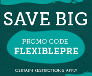 Save with promo code FLEXIBLEPRE